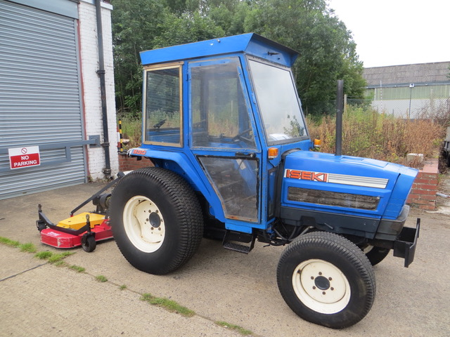 New and Used Iseki 530 COMPACT TRACTOR for sale across England, Scotland & Wales.