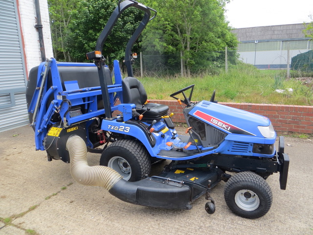 New and Used ISEKI TXG 23 4WD COMPACT TRACTOR Groundcare Machinery, compact tractors and ride mowers near me.