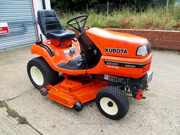 New and Used KUBOTA G2160 Groundcare Machinery, compact tractors and ride mowers near me.