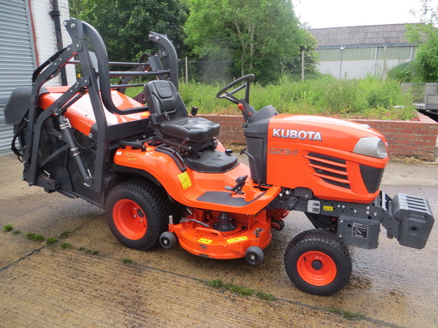 Used KUBOTA G23 MK2 HIGH TIP 48 DECK 200 HRS Groundcare Machinery, compact tractors and ride mowers near me.