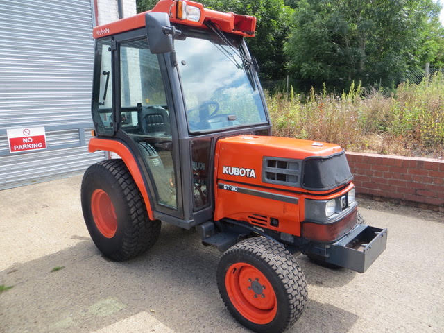 Used KUBOTA ST30 COMPACT TRACTORS Groundcare Machinery, compact tractors and ride mowers near me.