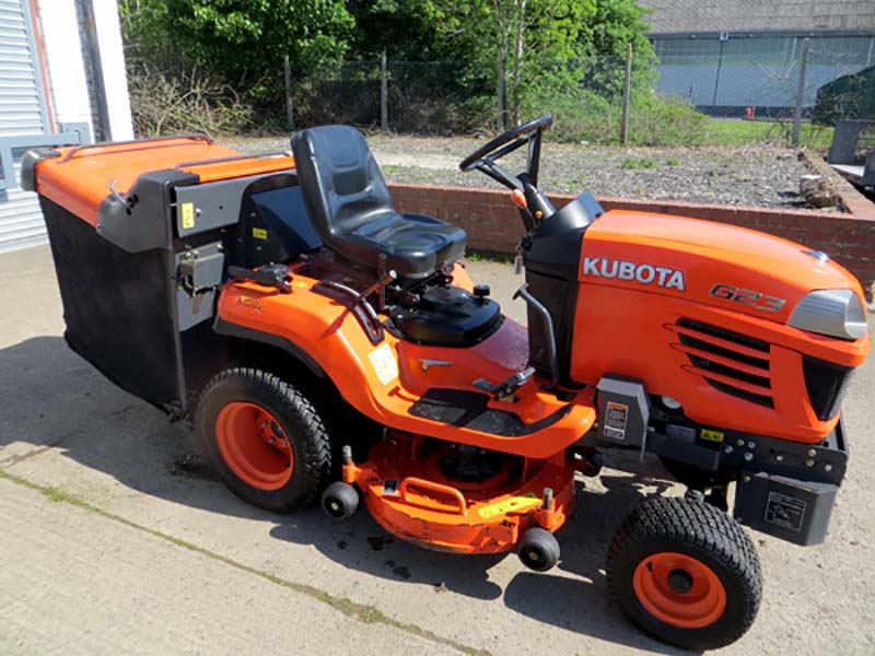 New and Used Groundcare Machinery, compact tractors and ride mowers for sale across England, Scotland & Wales.