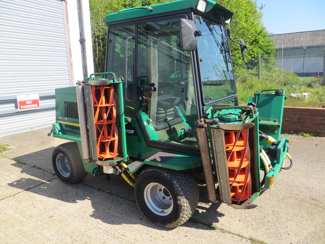 New and Used RANSOMES COMMANDER 3520 WIDE ARA MOWER, 48HP KUBOTA ENGINE, 11FT CUT, SERVICED CYLINDERS, compact tractors and ride mowers for sale across England, Scotland & Wales.